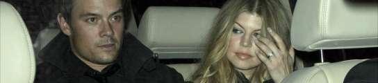 Fergie y su novio
