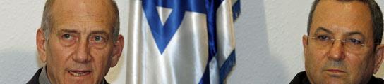 Olmert y Barak