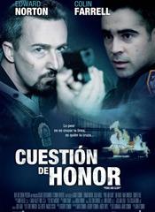 Cuestión de honor (2008) - Cartel