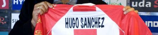 Presentación de Hugo Sánchez
