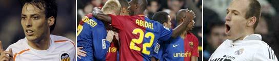 Silva, el Barcelona y Robben