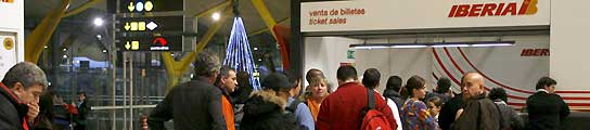 Iberia abre expedientes a 41 pilotos por la supuesta huelga de las últimas semanas