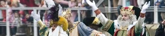 Reyes magos en Gijón