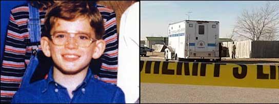 Comienzan a buscar en Kansas a un niño que desapareció hace diez años