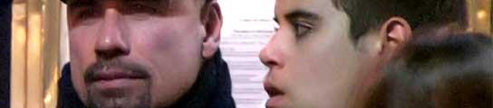 John Travolta y su hijo