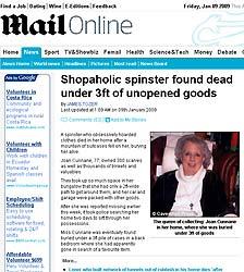 Joan Cunnane. (Daily Mail).