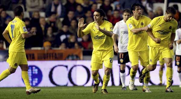 Gol de Fuentes para el Villarreal