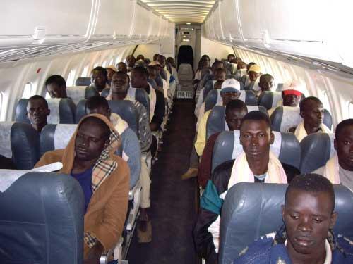 Repatriación de inmigrantes gambianos