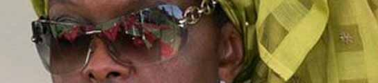 Grace Mugabe, esposa de Robert Mugabe.