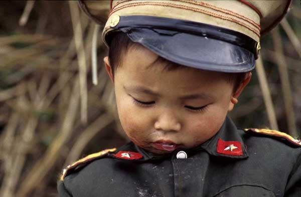 Imagen de archivo de un menor chino