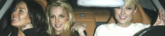 Lindsay Lohan, Britney y Paris Hilton
