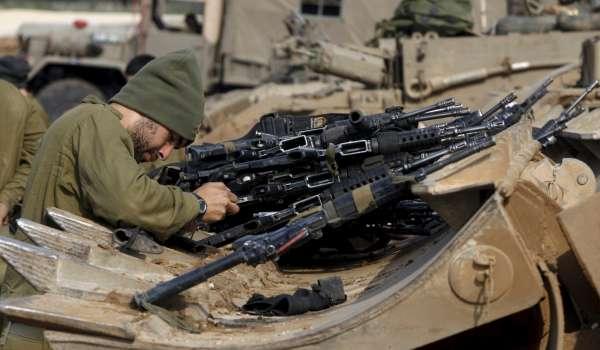 Un soldado israelí en Gaza