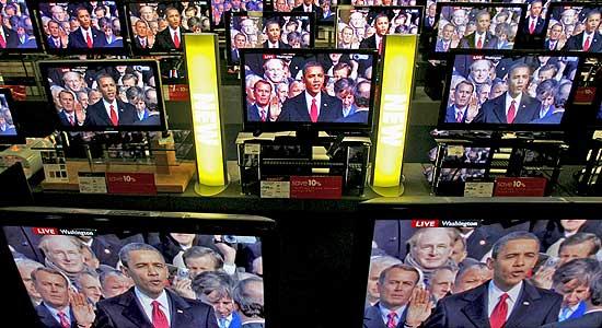 Obama, en la televisión