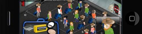 Un videojuego para iPhone parodia la seguridad de los aeropuertos