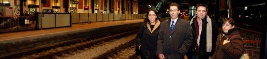 Viajeros en lanzadera Valladolid Madrid