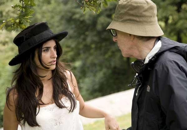 Penélope Cruz y Woody Allen