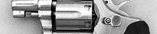 El arma era un revólver Smith and Wesson del calibre 38