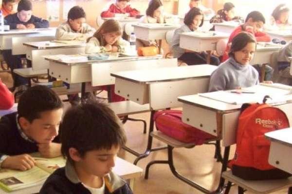 Alumnos de un colegio.