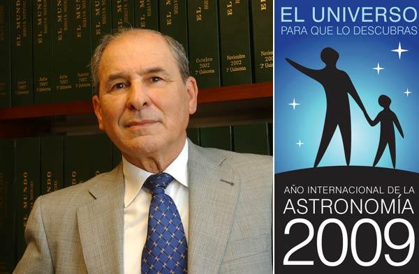 Emilio Silvera , astronomía Huelva