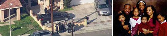 Un hombre mata a su mujer y a sus cinco hijos y luego se suicida en Los Ángeles