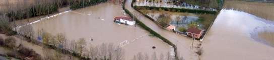 Inundaciones en Miranda de Ebro