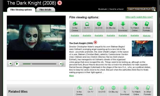 Web findanyfilm.com