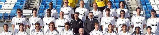 Foto oficial del Real Madrid 08/09