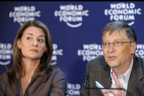 Bill Gates, en Davos