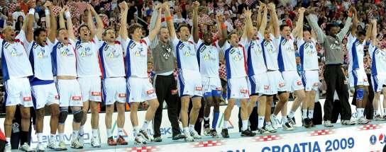 Francia, en el podio de campeón del mundo de balonmano 2009