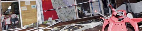 Un tornado deja 25 heridos en Málaga