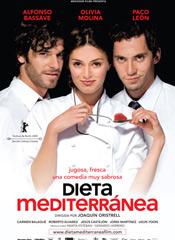 Dieta mediterránea - cartel