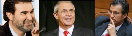 Candidatos a las elecciones gallegas