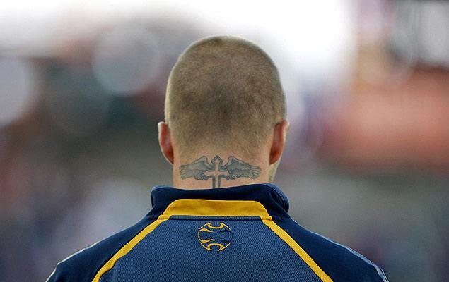 tatuajes para la cadera. tatuajes de leon con alas. Los tatuajes de los futbolistas - 20minutos.es -