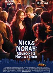 Nick y Nora - cartel