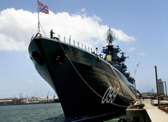 Imagen de archivo del crucero Pedro I el Grande. CNN