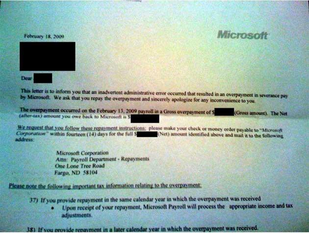 Carta de Microsoft