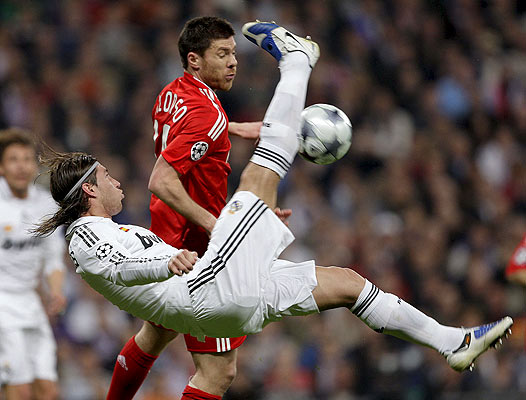 Real Madrid contra el Liverpool 25/02/09