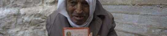 El palestino más anciano del mundo