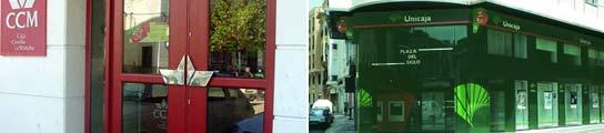 El banco de espa a toma el control de caja castilla la for Oficinas de unicaja en madrid