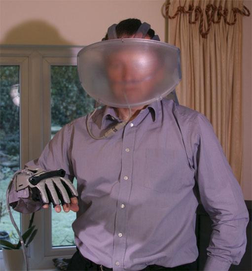 Casco de realidad virtual