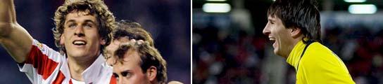 Llorente y Messi
