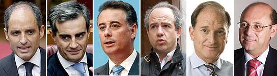 Dirigentes del PP