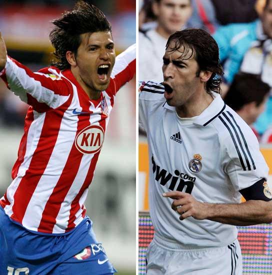 Kun Agüero y Raúl