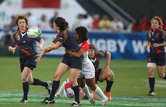 Selección femenina de rugby a siete