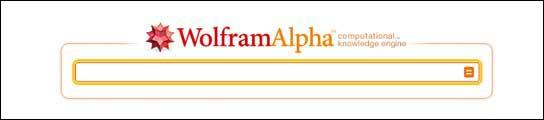 Sitio de Wolfram Alpha