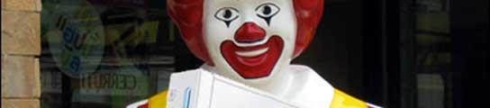 La Wii en McDonald's