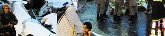 Un brasileño secuestra a su propia hija, se la lleva en una avioneta robada y se estrella  (Imagen: Cristiano Borges / EFE)
