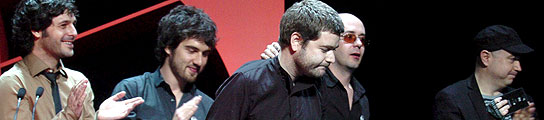 Vetusta Morla en los premios de la Música