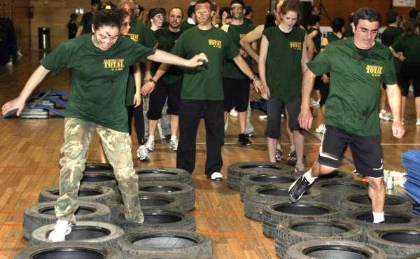 el entrenamiento militar es lo ltimo en fitness en varios