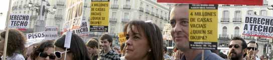 Manifestación vivienda digna